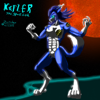Kepler - The Space God \o/ by Frostridge-Dragoone