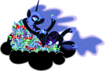 Nightmare Moon - Night dessert by abydos91