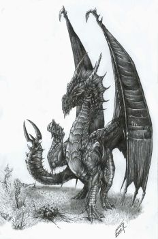 Black Dragon by AlphonseCapone