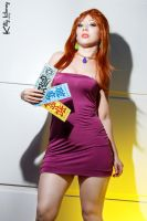 Ghost Sweeper Mikami cosplay by Kitty-Honey