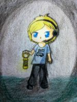 Pewdiepie by moonlighttalon