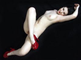 New Red Shoes no. 3 by Snapfoto
