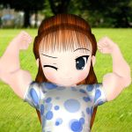 Little Muscle Girl 5 by nem-res