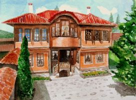 Back when a colourful house meant something by AsharaNi