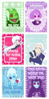 Valentines cards by xwocketx