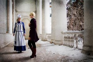 Alois and Hannah by scentless-flower
