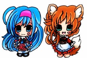Chibis for Adopt closed by SweetAdoptParadies