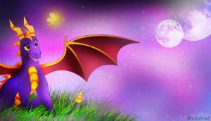 spyro and sparx by coolrat