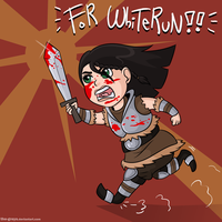 Lydia of Whiterun by The-Greys