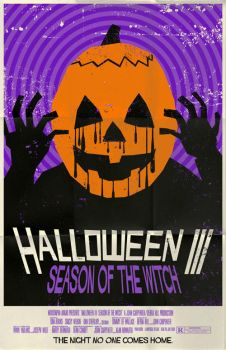 Halloween 3 Poster by markwelser