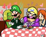 Collab: Double Date by LoveandCake