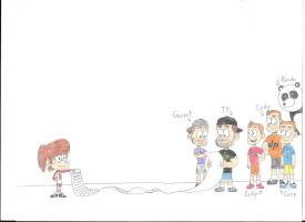 Lynn Loud meets Dude Perfect by Chimafan1