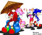 Toying with Knuckles by rougewindfield