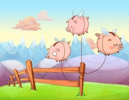 When Pigs Fly by keepsake20