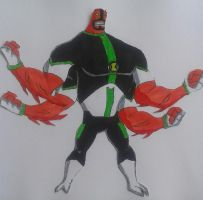 Fourarms Ben 10000 by Kamran10000