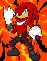 Sonic Kombat: Knuckles-Kang by neyola298