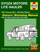 Haynes Manual Toy Story Truck by LordDavid04