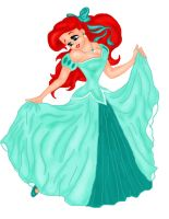 ariel her dress colord by arieldepp