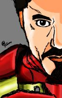 Iron Man/ Tony Stark by alineumann