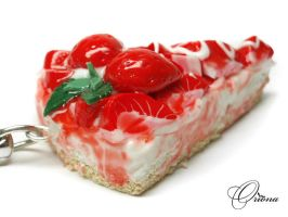Strawberry Cake 02 by OrionaJewelry