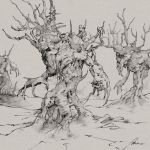 Treefolk on warpath by Dreamphaser