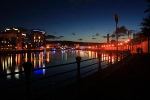 Belfast at dusk by CharleyRum