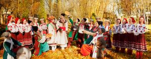 Ukrainian Culture:Wedding by RomanceXGirl