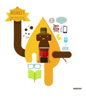 monkey bussiness by MyTriangle