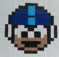 Megaman Pixel Life by DuctileCreations