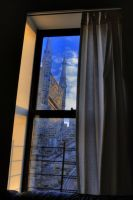 Across the Street HDR by Lorddarphyve
