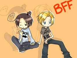 APH teens: BFF by Youngie96