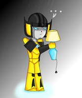 30. Under the Rain-Sunstreaker by FFsGunslingerVincent