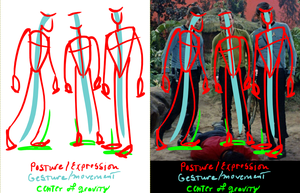 TOS Character Posture Study by enterprising-bones