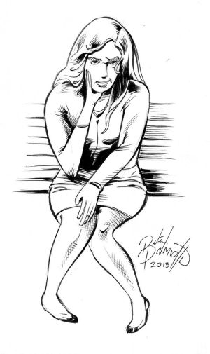 Warm up sketch 4 by PeterPalmiotti