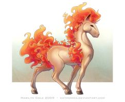 It's a Ponyta ...0o by Katmomma