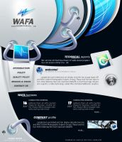 W A F A  website by ahmedmagdi