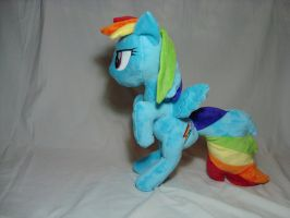 Rainbow Dash plush - 20 percent cooler by PlanetPlush