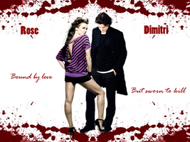 Rose and Dimitri by Alexya16