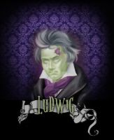 Ludwig - t-shirt by tainted-orchid