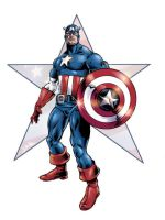 Captain America II in Color by jharris