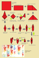 How to make cranes by origami-love
