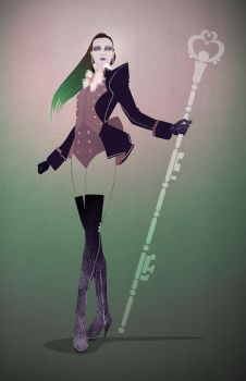 Sailor Pluto by AbrahamCruz
