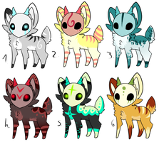CLOSED - Maskees Adoptables 188 by LeaAdoptables
