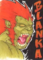 Street Fighter  Blanka by joebananaz