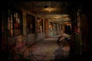 Ghosts of the Asylum by allison712
