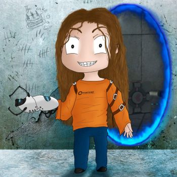 Me and my Portal Device! by Th00z