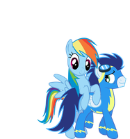 Soarin' through Rainbows ch. 2 by TheFireWolfAuthor