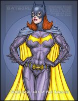 Batgirl 3 colorized by GOODGIRLART