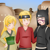 Kankuro's friends by Misfitts
