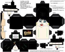 Horror17: Elvira Cubee by TheFlyingDachshund